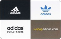 timeless design abeb5 76881 Adidas Gift Cards
