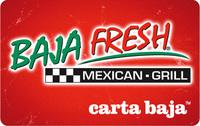 Sell Baja Fresh Gift Card - Gift Card Exchange   Cardpool.com