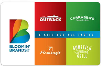 Sell Bloomin Brands Gift Card Gift Card Exchange Cardpoolcom