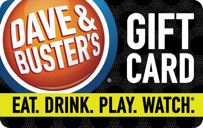 Sell Dave and Busters Gift Card - Gift Card Exchange | Cardpool com