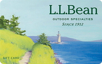 Gift Card at Discount - Buy L.L. Bean Gift Cards 12% off ...