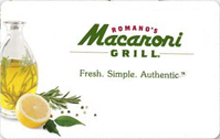 Gift Card at Discount - Buy Macaroni Grill Gift Cards 23% off ...