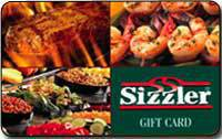 Sizzler cares about customer safety and that is why a complete allergen guide is provided online. Be sure to check out the guides before you head over to Sizzler. Gift Cards. Add a little sizzle to someone's special day by giving them a Sizzler gift card. Guests can order traditional gift cards online and have them delivered via postal service.