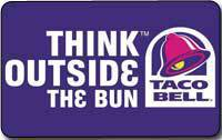 Gift Card at Discount - Buy Taco Bell Gift Cards 10% off ...