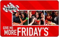 Gift Card at Discount - Buy TGI Friday's Gift Cards 21% off ...